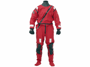 Ursuit AWS - Active Water Suit röd torrdräkt för paddling och vattensporter