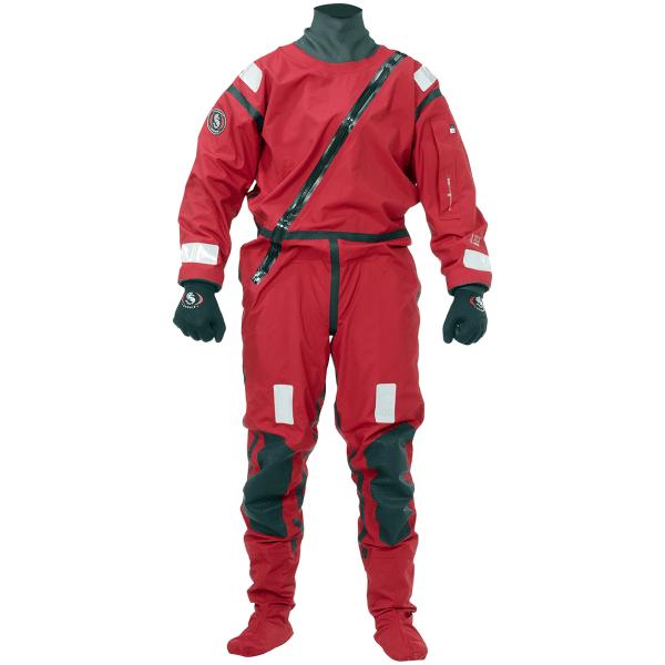 AWS - Active Water Suit röd torrdräkt för paddling och vattensporter